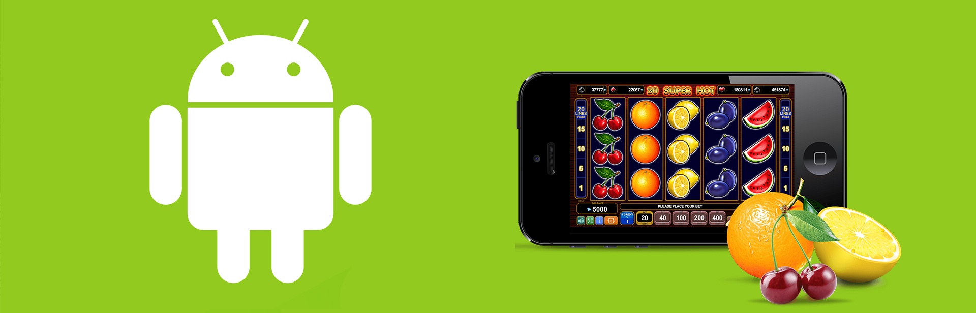 Online Casino and Android Application